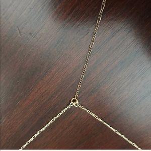 "top shelf jewelry Jewelry - ""L"" initial long Y-necklace"